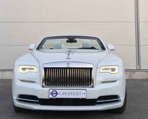 rent rolls royce dawn riviera south of france