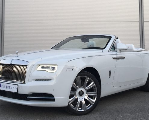 rent hire rolls royce dawn france french riviera