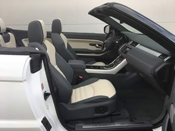 Car4rent Rent a Range Rover evoque convertible