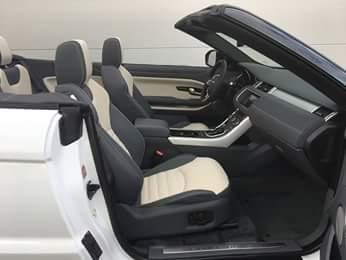 Car4rent Rent a Range Rover evoque convertible