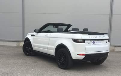 Rent evoque convertible Car4rent