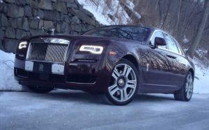 ghost montagne avec Car4rent voiture de luxe location