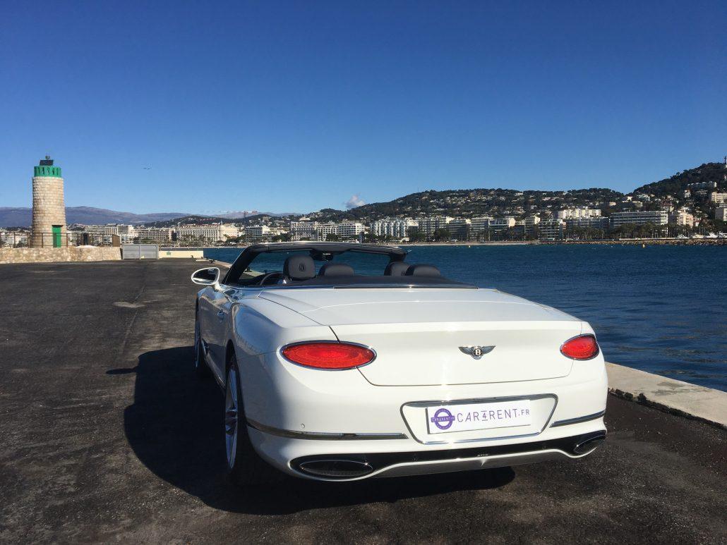 location bentley continental Cannes Car4rent