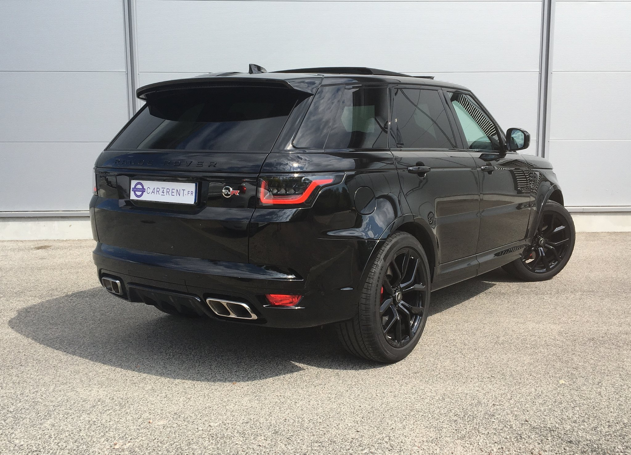 range rover sport svr for rent